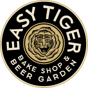 This is the restaurant logo for Easy Tiger