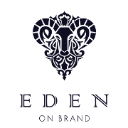 This is the restaurant logo for Eden on Brand