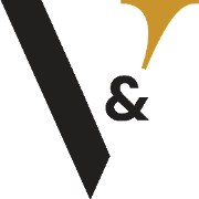 This is the restaurant logo for Vim & Victor