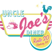 This is the restaurant logo for Uncle Joe's Diner