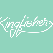 This is the restaurant logo for Kingfisher
