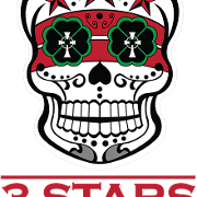 This is the restaurant logo for Three Stars Brewing Company