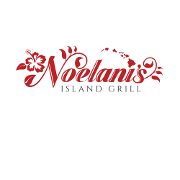 This is the restaurant logo for Noelani's Island Grill