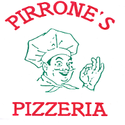 This is the restaurant logo for Pirrone's Pizzeria