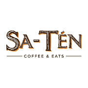 This is the restaurant logo for Sa-Tén Coffee & Eats
