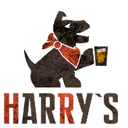 This is the restaurant logo for Harry's Alehouse