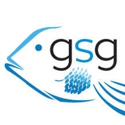 This is the restaurant logo for Georgia Sea Grill