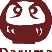 This is the restaurant logo for Daruma Ramen