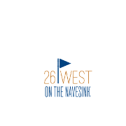 This is the restaurant logo for 26 West On The Navesink