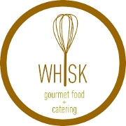 This is the restaurant logo for Whisk Gourmet