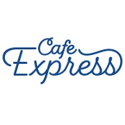 This is the restaurant logo for Cafe Express