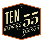 This is the restaurant logo for Ten55 Brewing Company