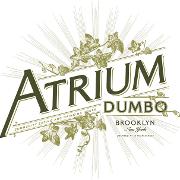 This is the restaurant logo for Atrium DUMBO