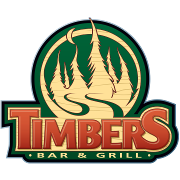 This is the restaurant logo for Timbers Bar and Grill