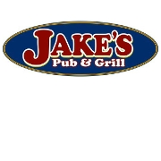 This is the restaurant logo for Jake's Pub & Grill