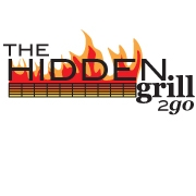 This is the restaurant logo for The Hidden Grill