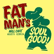 This is the restaurant logo for Fat Man's Cafe