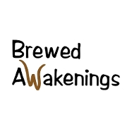This is the restaurant logo for Brewed Awakenings