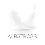 This is the restaurant logo for Albatross