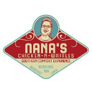 This is the restaurant logo for Nana's Chicken-N-Waffles
