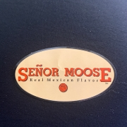 This is the restaurant logo for Senor Moose Cafe