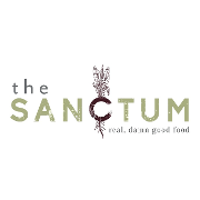 This is the restaurant logo for The Sanctum