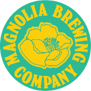 This is the restaurant logo for Magnolia Brewing Company