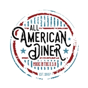 This is the restaurant logo for All American Diner