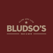 This is the restaurant logo for Bludso's Bar and Que