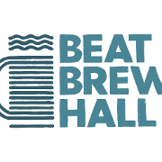 This is the restaurant logo for Beat Brew Hall