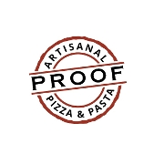 This is the restaurant logo for Proof