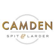 This is the restaurant logo for Camden Spit & Larder