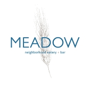 This is the restaurant logo for Meadow Neighborhood Eatery