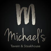 This is the restaurant logo for Michael's Tavern & Steakhouse