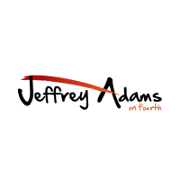 This is the restaurant logo for Jeffrey Adams on Fourth