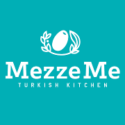 This is the restaurant logo for MezzeMe Turkish Kitchen