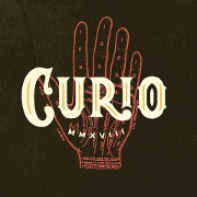 This is the restaurant logo for Curio Bar
