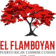 This is the restaurant logo for El Flamboyan