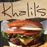This is the restaurant logo for Khalil's