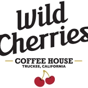 This is the restaurant logo for Wild Cherries Coffee House