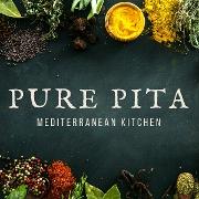 This is the restaurant logo for Pure Pita Mediterranean Kitchen