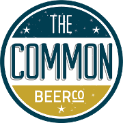 This is the restaurant logo for The Common Beer Company
