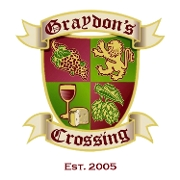 This is the restaurant logo for Graydon's Crossing