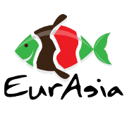 This is the restaurant logo for Eurasia Fusion Sushi