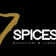 This is the restaurant logo for 7 Spices Restaurant & Lounge