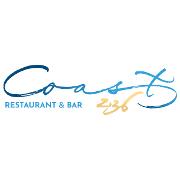 This is the restaurant logo for Coast 236 Restaurant & Bar