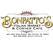 This is the restaurant logo for Bonfatto's Italian Market and Corner Cafe
