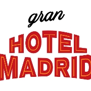 This is the restaurant logo for Hotel Madrid