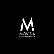 This is the restaurant logo for Movida