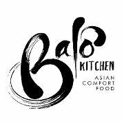 This is the restaurant logo for Balo Kitchen